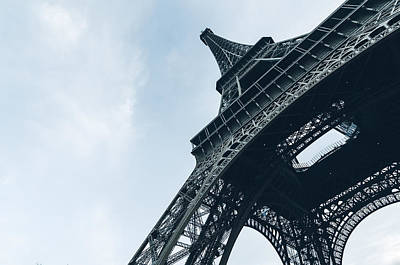 Majestic Eiffel Tower Art Print