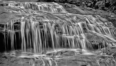 Photograph - Majestic Falls In Motion by David A Lane