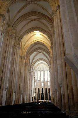Photograph - Majestic Gothic Cathedral In Portugal by Kirsten Giving