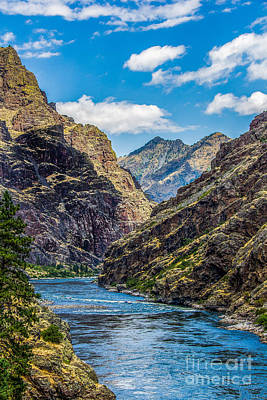 Art Print featuring the photograph Majestic Hells Canyon Idaho Landscape By Kaylyn Franks by Omaste Witkowski