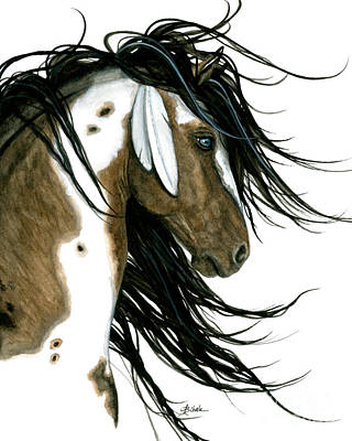 Painting - Majestic Horse 159 by AmyLyn Bihrle