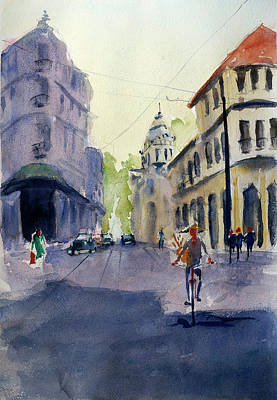 Painting - Majestic Hotel, Saigon1 by Tom Simmons