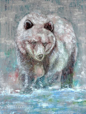 Painting - Majestic Hunt by Jennifer Godshalk