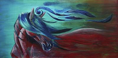 Painting - Majestic by Jerry Frech