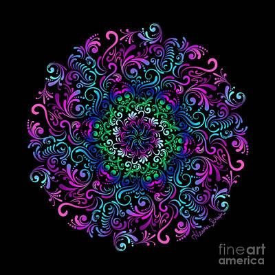 Majestic Kaleidoscope Art Print