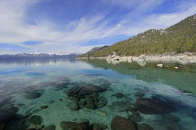 Photograph - Majestic Lake Tahoe by Sean Sarsfield