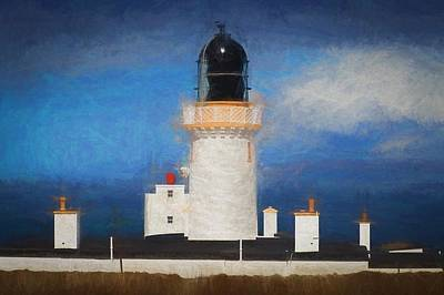 Amy Hamilton Animal Collage - Majestic Lighthouse #1 by David Melville
