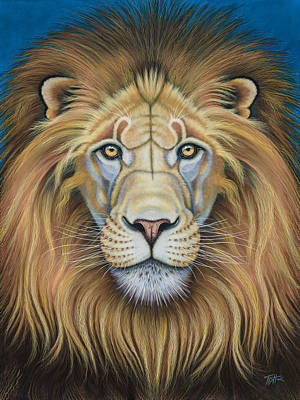 Painting - The Lion's Mane Attraction by Tish Wynne