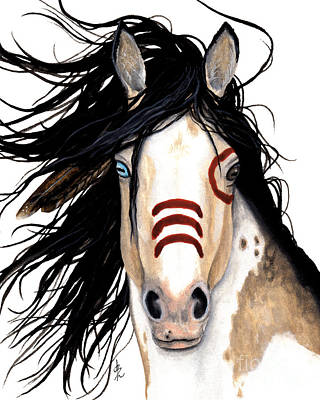 Pinto Painting - Majestic Look 136 by AmyLyn Bihrle