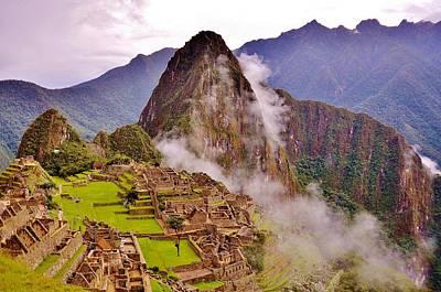 Photograph - Majestic Machu Picchu by Jonathan Bayani