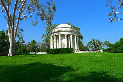Photograph - Majestic Mausoleum by Denise Mazzocco