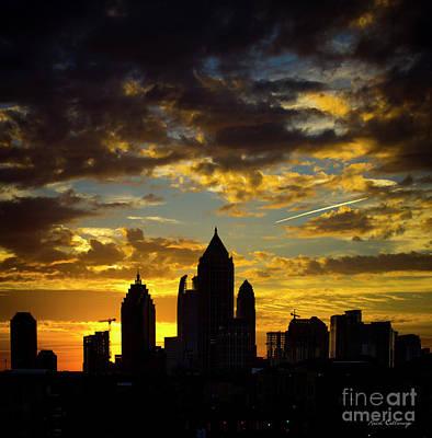 Photograph - Majestic Midtown Sunrise 2 Atlantic Station Art by Reid Callaway