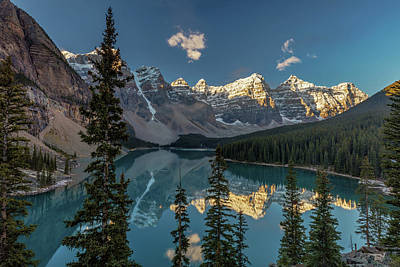 Photograph - Majestic Moraine Lake by Pierre Leclerc Photography