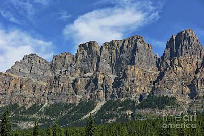 Photograph - Majestic Mountain Cliffs by Carol Groenen