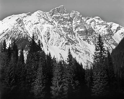 Urban Scenes Photograph - Majestic Mountains, British Columbia, Canada by Brian Caissie