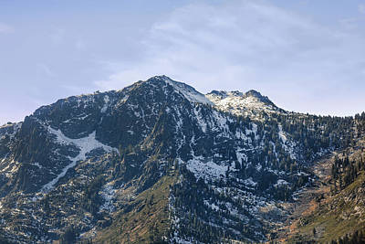Photograph - Majestic Mountains Of Tahoe by Sennie Pierson