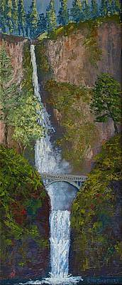 Majestic Multnomah Art Print by Ron Smothers