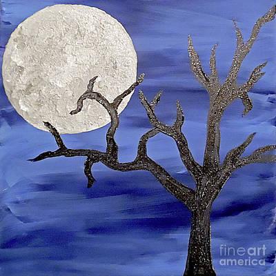 Eerie Painting - Majestic Night by Jilian Cramb - AMothersFineArt