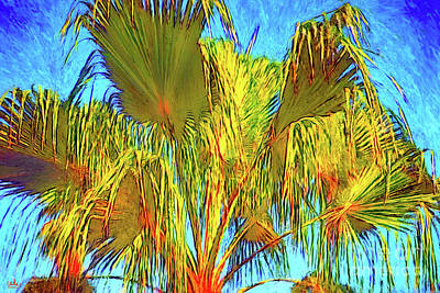 Digital Art - Majestic Palm by Gerhardt Isringhaus