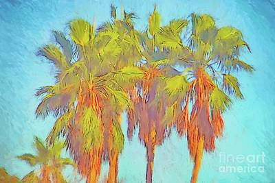 Digital Art - Majestic Palms by Gerhardt Isringhaus