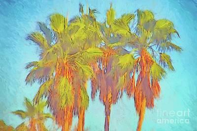 Majestic Palms Art Print by Gerhardt Isringhaus