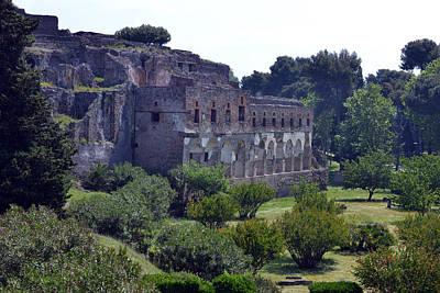 Majestic Pompeii Original by Terence Davis
