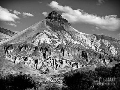 Photograph - Majestic Rimrock Bw by Chalet Roome-Rigdon