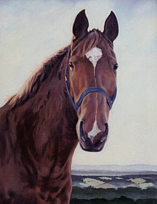 Painting - Majestic Roger by Gillian Owen