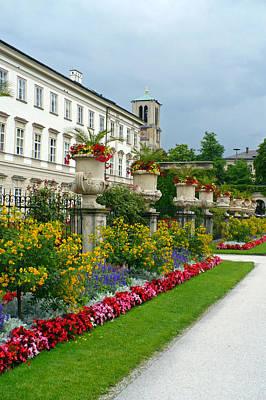 Photograph - Majestic Salzburg Garden by Carol Groenen