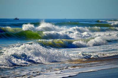 Undertow Photograph - Majestic Sea by Dianne Cowen