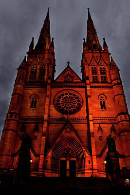 Photograph - Majestic St. Mary's Cathedral  by Miroslava Jurcik