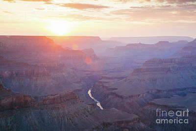 Photograph - Majestic Sunset Over Grand Canyon, Arizona, Usa by Matteo Colombo