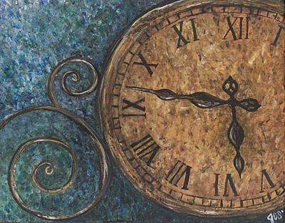 Majestic Timing Art Print by Jessica Christine Stapleton