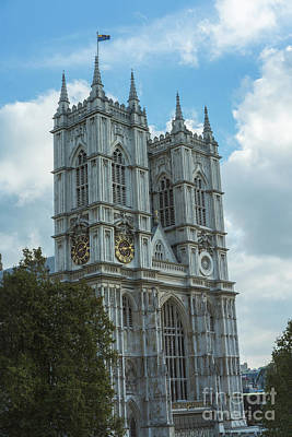Photograph - Majestic Westminster Abbey by Mike Reid