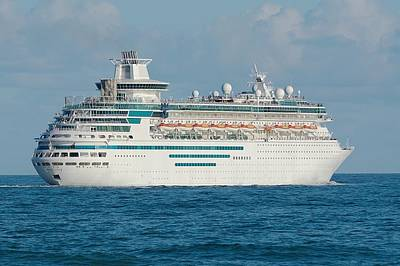 Photograph - Majesty Of The Seas Cruise Ship by Bradford Martin