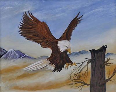 Soaring Painting - Majesty by Pamela Ray