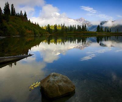 Lake Photograph - Majesty Revealed by Mike  Dawson