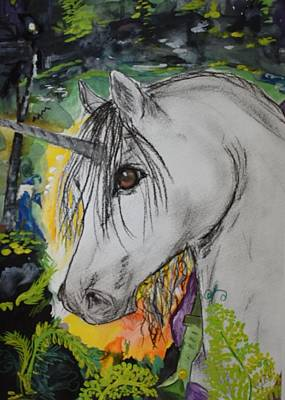 Painting - Majik by Susan Snow Voidets