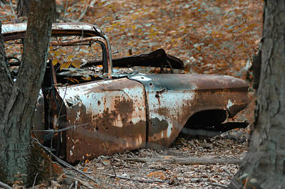 Rusted Cars Photograph - Major Break Down by Ross Powell