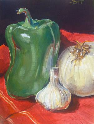 Painting - Major Flavor II by Denise Ivey Telep