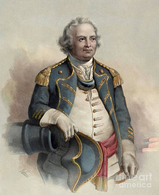 Painting - Major General Israel Putnam by Dominique C Fabronius