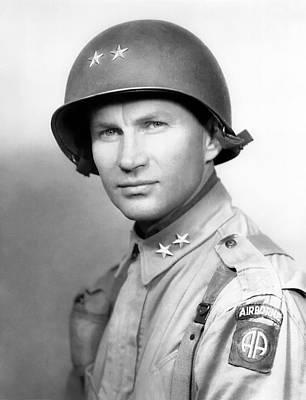 Israeli Flag - Major General James Gavin  by War Is Hell Store