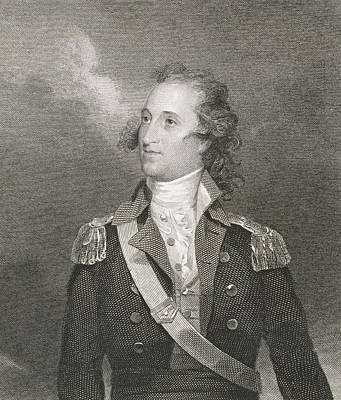 Major General Thomas Pinckney Art Print by John Trumbull