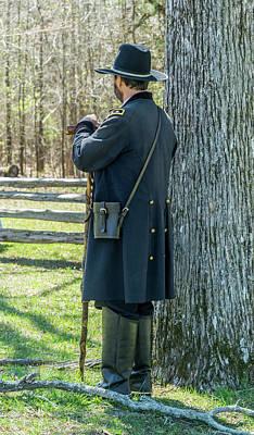Photograph -  Major General Ulysses S. Grant Pondering by Douglas Barnett