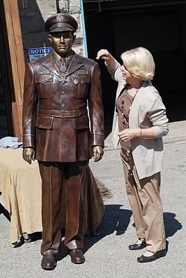 Sculpture - Major John Sjogren Bronze by Ruth Gee