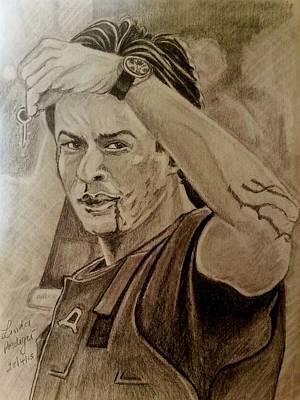 Major Ram Prasad Sharma Art Print by Linda Prediger