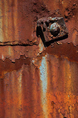 Nuts And Bolts Photograph - Major Rust by Karol Livote