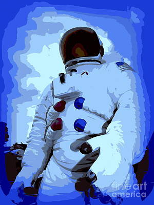 Digital Art - Major Tom #2 by Ed Weidman