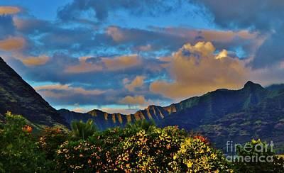 Photograph - Makaha Sunset by Craig Wood