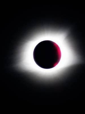 Photograph - Makanda Solar Eclipse 2017 - II by Frank Chipasula